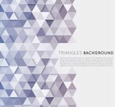 时尚三角形 立体背景图片