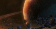 环行星带图片