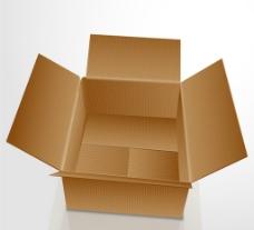 敞開的紙箱圖片