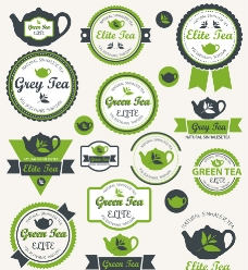 茶叶标签图片