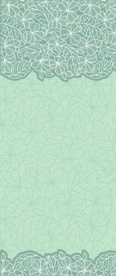 简单欧式花纹背景